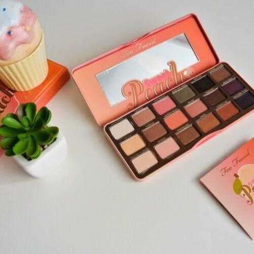Too Faced Sweet Peach paletka / mini recenze