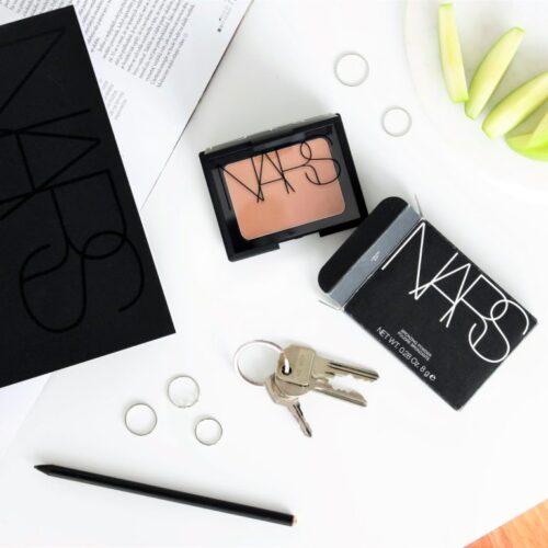 NARS Laguna bronzer & Velvet Matte Lip Pencil    recenze