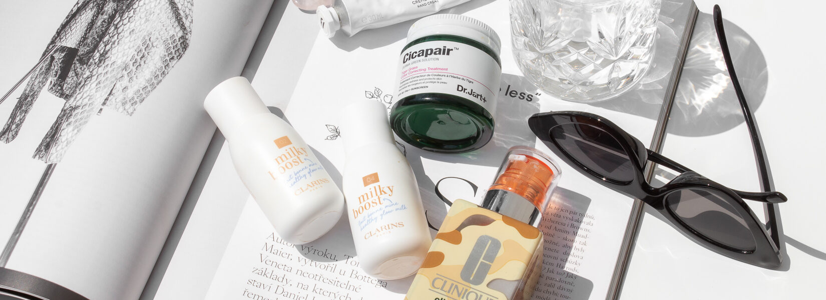 BB gel, Milky Boost, Cicapair Cream – tónující krémy // recenze a porovnání