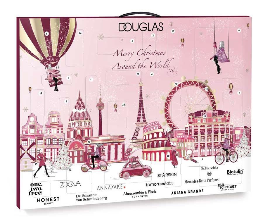 Douglas adventní kalendář s kosmetikou 2020