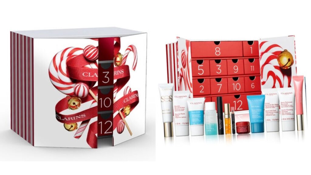 kosmetický adventní kalendář Clarins 2020