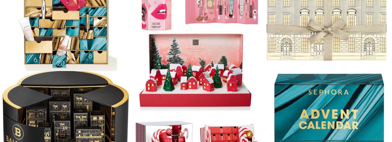 Nejkrásnější kosmetické adventní kalendáře 2020