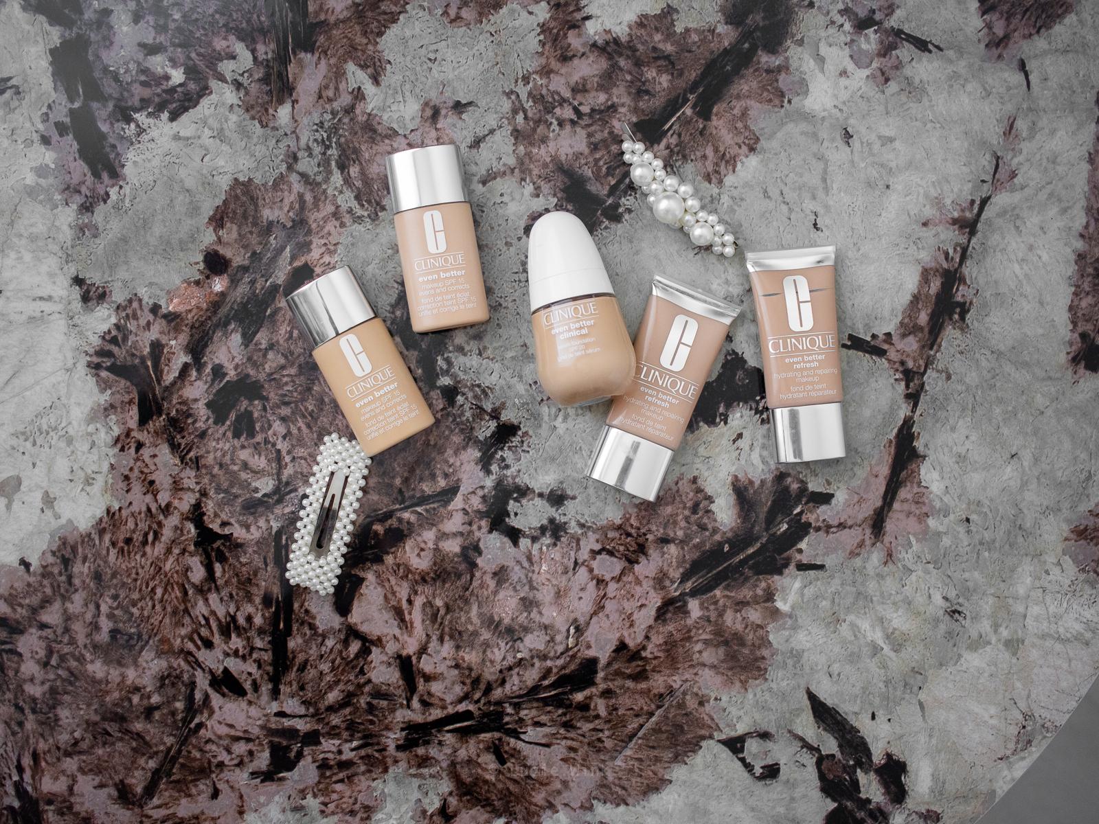 Clinique makeup odstíny Evropě n Better Clinical refresh